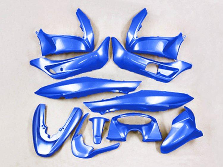 ホンダ PCX(JF28/KF12) 外装カウル 11点セット 青色マリンブルー