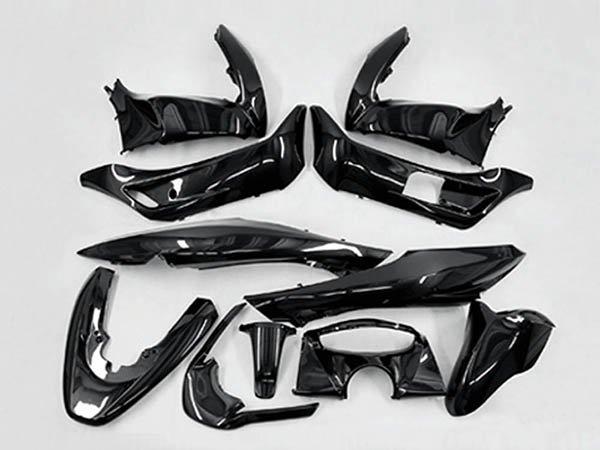 ホンダ PCX(JF28/KF12) 外装カウル 11点セット メタリック黒色
