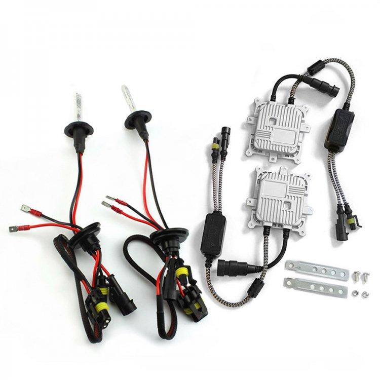 純正交換用HIDバルブ H1 35W 8000K HIDキット 12V対応 薄型バラスト 2灯分