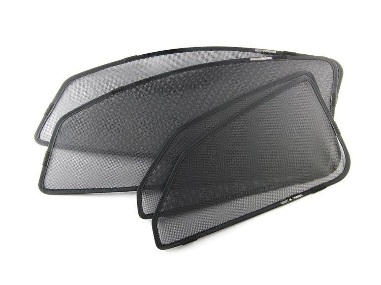 C-HR CHR ZYX10/NGX50 メッシュサンシェード 遮光カーテン カーシェード 紫外線カット 日除け 4枚セット