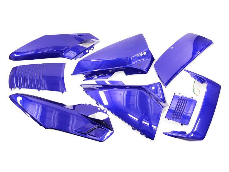 ホンダ フュージョンMF02 ハイマウントLED付き 外装アッパー ネイビーブルー 8点セット