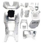 【特】マジェスティ 250C SG03J 5連メーター用 スクーター インナー カウル 塗装済 内装 パールホワイト 15点セット MAJESTY250