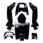 マジェスティ 250 SG20J 4D9 スクーター インナーカウル 塗装済み 黒色 7点セット NEW MAJESTY250