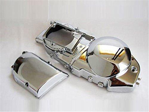 プーリーケース カバー メッキ タイプI マジェスティ2/C型