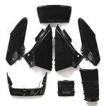 ホンダ フュージョンMF02 外装アッパー 8点セット 黒(ブラック)