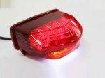 ホンダ CBR600RR(07~10年) 純正タイプ 赤レンズ LEDテール ユニット