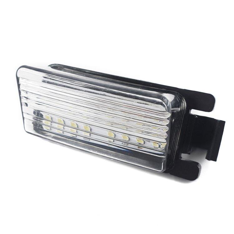 スカイライン/フェアレディZ/GT-R LEDライセンスライト 白N03-6