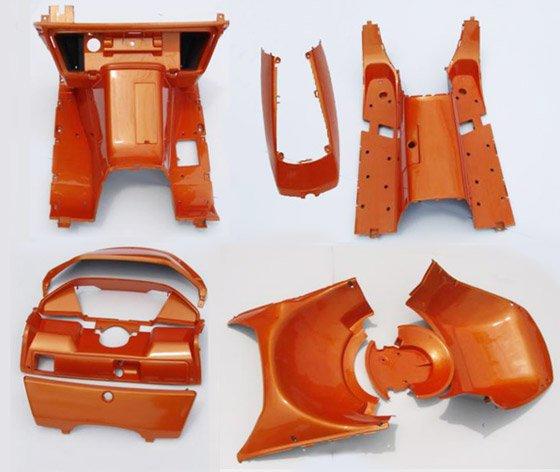 【在庫処分】ホンダ フュージョンMF02用 オレンジ インナーセット 1式