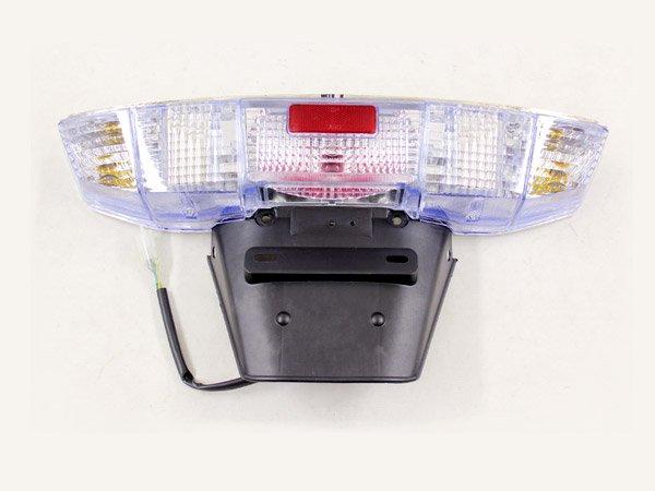 フュージョン MF02用純正タイプ クリアレンズ テールランプASSY 電装 テールランプ