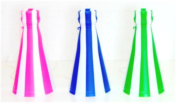 クラッカーバルーンスターターセット( 7色と土台付きひっぱり棒)