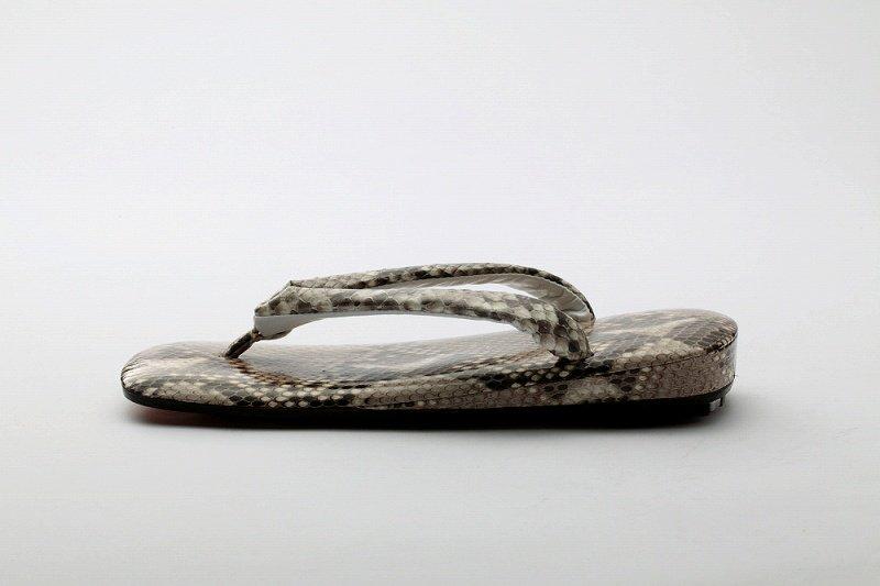 高級雪駄 本錦蛇