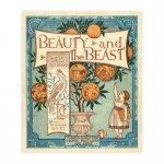 アンティーク絵本 復刻本シリーズ 1 「ウォルター・クレインの美女と野獣」