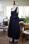 ペプラムジャンパースカート(ブラック)