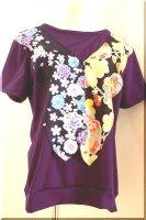 ★一点物・受注作製★和柄・ベスト一体型Tシャツ長袖・半袖☆レディースS〜5L