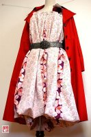 【即納】和柄着物リメイク2WAYバルーンスカート&ワンピース/春梅桜