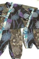 ★一点物・受注作製★和柄・作務衣/性別選べる☆キッズ,レディース,メンズ