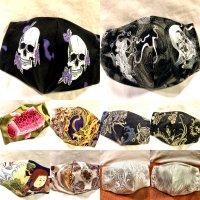 ★受注作製★和柄布マスク 3WAY立体型 キッズ、レディース、メンズ
