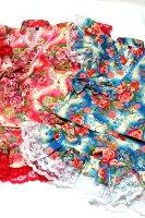 ★一点物・受注作製★和柄・フリフリ女の子用甚平・祭りに!普段に!☆子供服サイズ80〜140