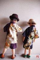 ★一点物・受注作製★和柄・甚平/性別選べる☆子供服サイズ80〜140