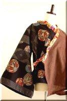 ★一点物・受注作製★和柄・フレア袖羽織り☆レディースS〜5L