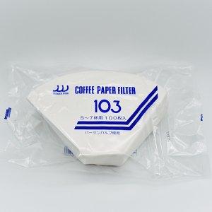 oo-三洋産業 扇形コーヒーフィルター5~7杯用 100枚