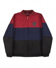 HELAS - FAN JACKET  BURG/NAVY/BLACK