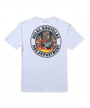HELAS - FIRE DEPT TEE WHITE