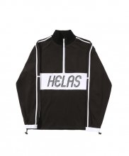 HELAS - LIGA QUARTER ZIP BLACK