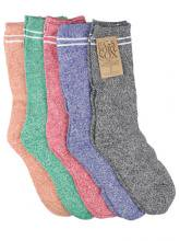PASSPORT - HI HEATHER SOX 5 PACK