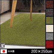 【送料無料】ラグ/カーペット/ロブ/日本製/床暖/200×250
