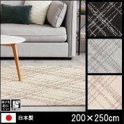 【送料無料】ラグ/カーペット/オドレイ/日本製/床暖/200×250