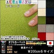 【送料込】東リ/リビングラグ&カーペット/レモード/長方形楕円形普通サイズW200cm6サイズから選ぶリビングラグ・カーペット/10カラー