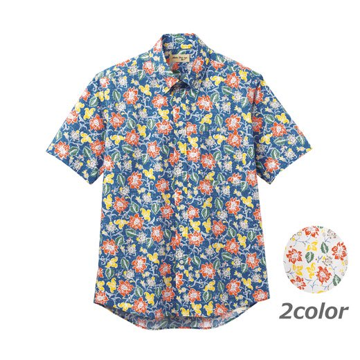 アロハシャツ(花柄)FB4540U
