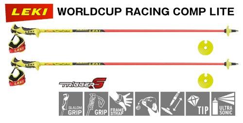 【2018年12月入荷予定】LEKI WORLDCUP RACING COMP LITE トリガーS搭載スキーポール (643-3820)