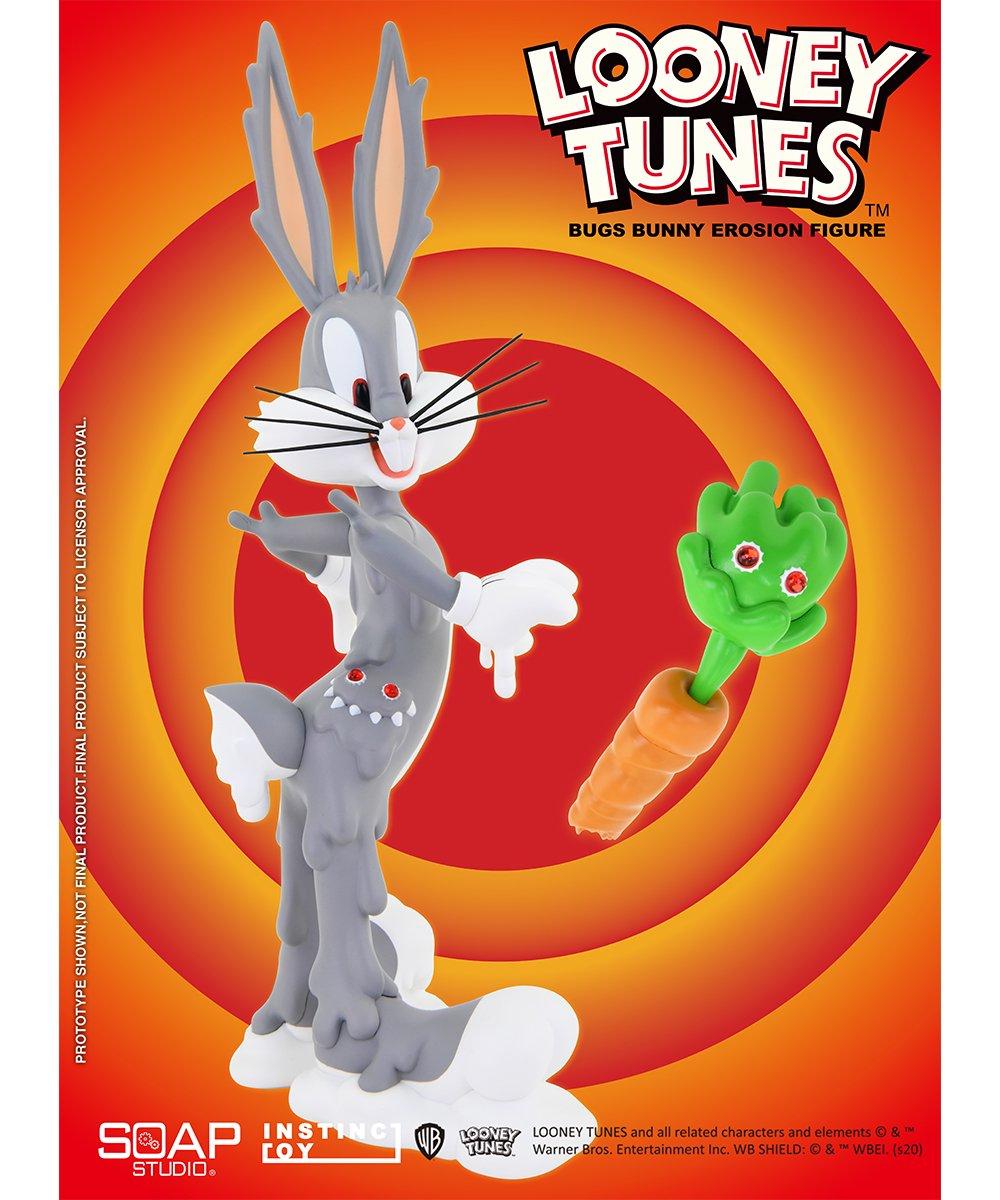 SOAP STUDIO × INSTINCTOY Bugs Bunny Erosion Figure