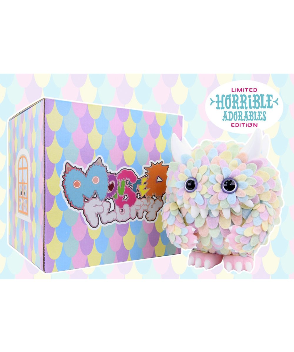 Artist Edition Monster Fluffy by Horrible Adorables