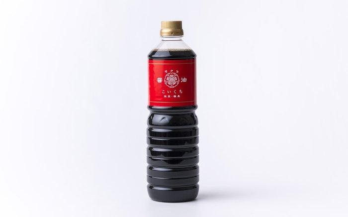 サクラ醤油・こいくち(鶴)  1Lペットボトル