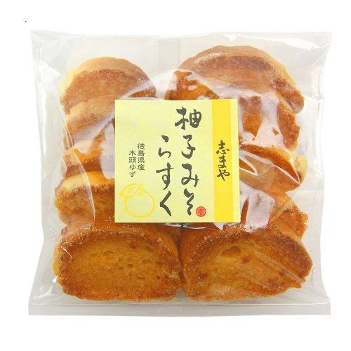 柚子みそラスク 【志まや味噌】 10枚入り