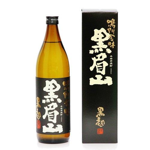 【日新酒類】 本格芋焼酎 なると金時 黒眉山 【なると金時を使用した焼酎】