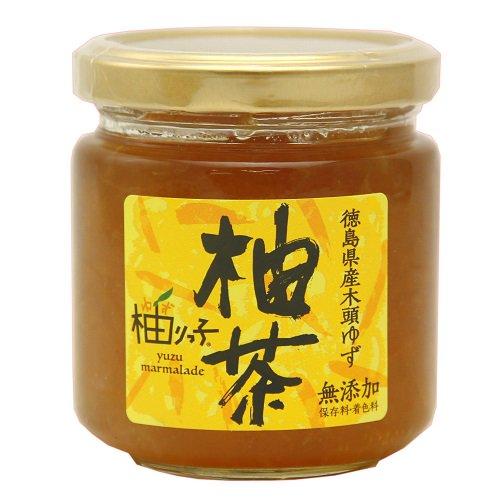 柚茶【柚りっ子】木頭ゆずと北海道産てん菜糖だけでつくりました。