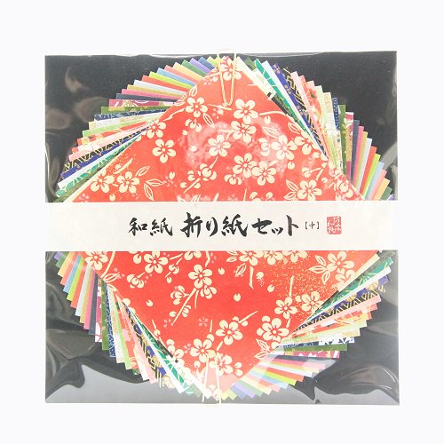 阿波和紙 折り紙セット【アワガミファクトリー】サイズが選べる友禅紙・手漉き和紙のアソートセットです。【メール便対応】