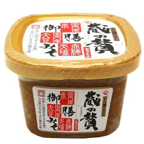 【御膳みそ】蔵の贅(くらのぜい)【ヤマク食品】吟味した国産の米と大豆を使用した贅沢な味!