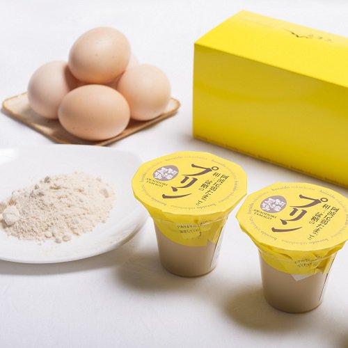 阿波尾鶏たまごと和三盆糖のプリン(3個入り)【山田宝来堂】