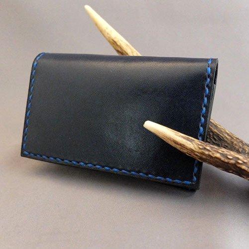 【黒革】名刺入れ・カードケース CC-�【RONIN】