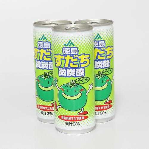 すだち微炭酸30本入り【JA徳島】