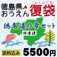 【徳島県おうえん「復袋」/冷凍便】徳島海の幸セット5500円【送料込み】
