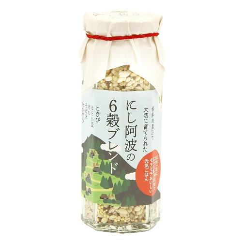【横関食糧】にし阿波の6穀ブレンド【雑穀】