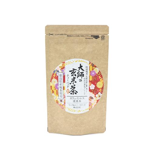 【阿波晩茶使用】大師の玄米茶【リッチ&ユニークフーズ】