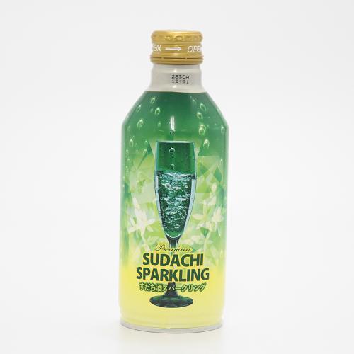 【すだち果汁使用】 すだち酒スパークリング 【本家松浦酒造場】
