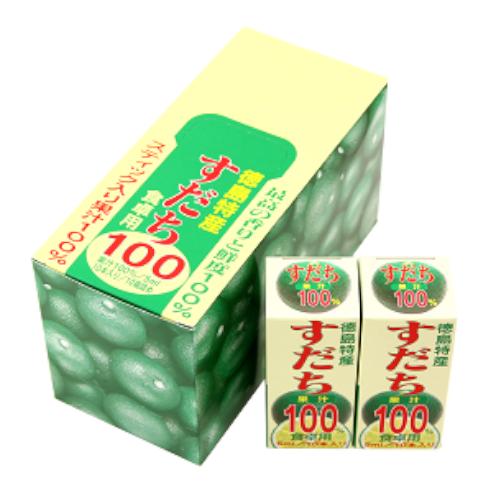 すだち果汁100%スティックタイプ(5cc×10袋)1箱、10箱入【JA徳島市】
